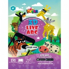 Live ABC. 3D Coloring Book