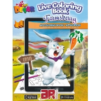Farmsberry. 3D Coloring Book