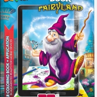 Fairyland. 3D Coloring Book